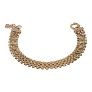 14K Two Tone Gold Bracelet - ID A950
