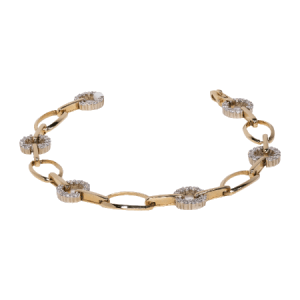 14K Yellow Gold Bracelet - ID A455