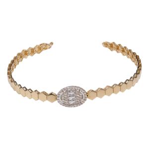 14K Yellow Gold Bracelet - ID: A855