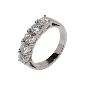 18k White Gold Ring - ID: P546