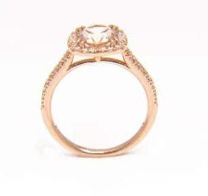 18k Yellow Gold Diamond Ring - ID: P411