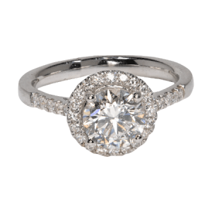 925 Sterling Silver Cz. Ring - ID: G346