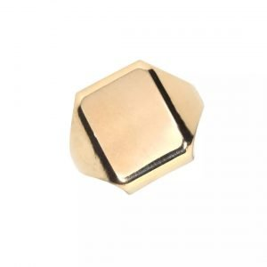 9k Yellow Gold Ring - ID: A315