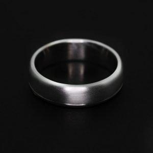 9k White Gold Wedding Band - ID A976