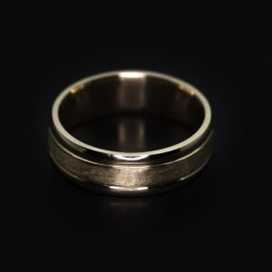 9k Yellow Gold Wedding Band Ring - ID: A647
