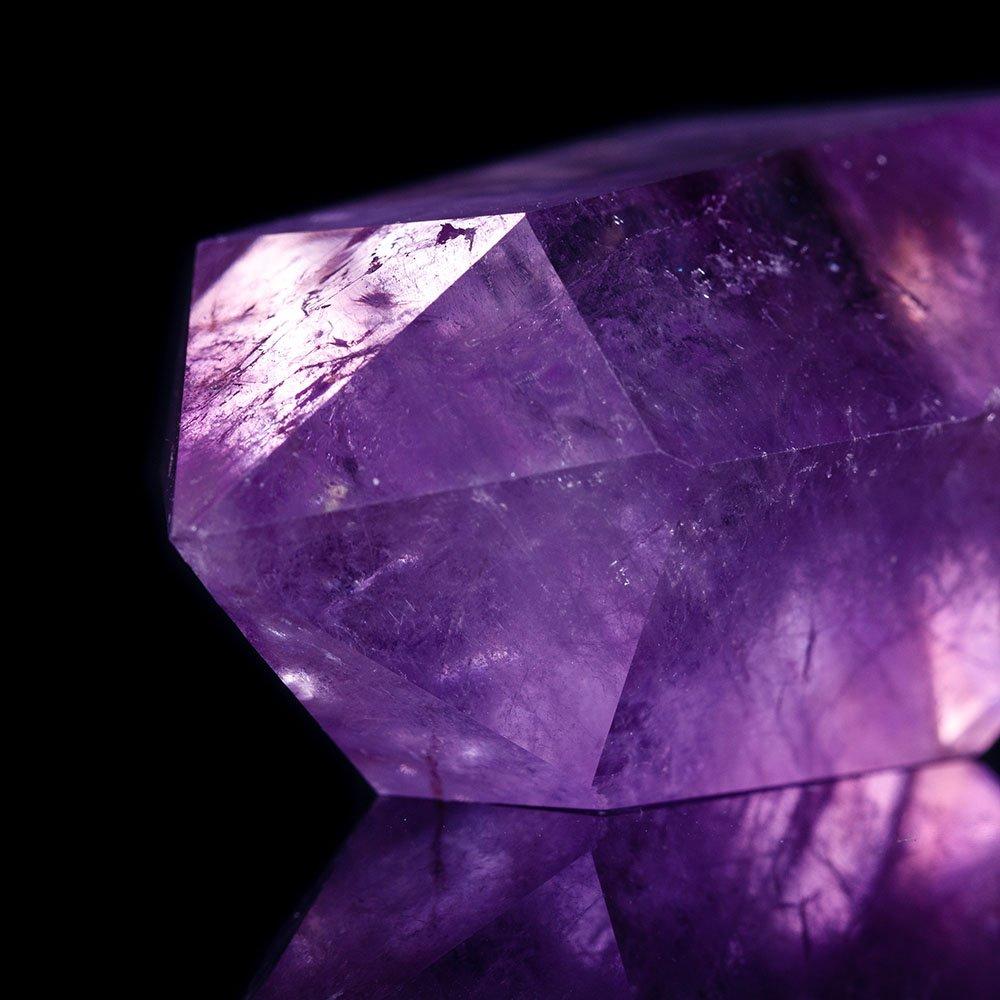 Birthstone, amethyst gemstone