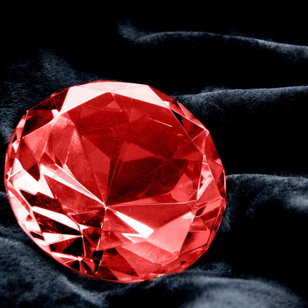 Birthstone, garnet gemstone